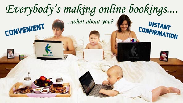 Everybody is making online bookings. What about you ?