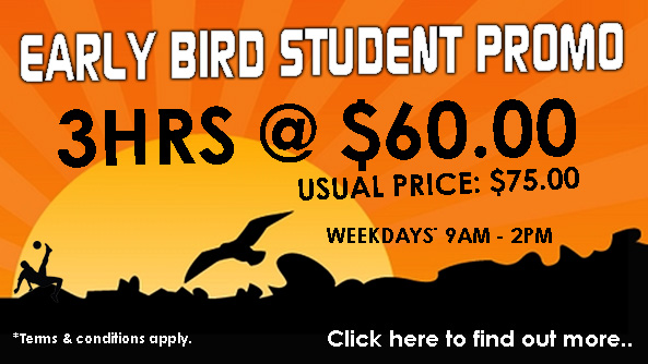 A Better Deal for Students Who Come Early!