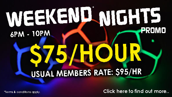 Weekend Nights Promo Is Now On!