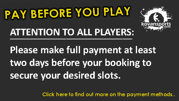 Notice: Pay Before You Play