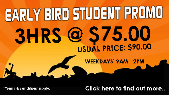 A Better Deal for Students Who Come Early !