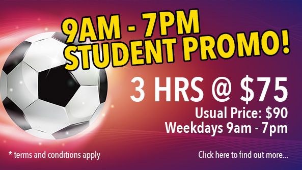 A Better Deal for Students During Weekdays!